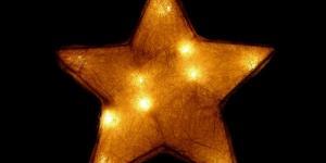 Uma estrela veio à nossa frente...