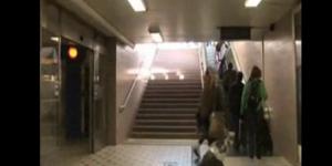 Piano na estação do Metrô