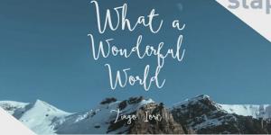 Que mundo maravilhoso
