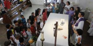 Missa e celebração da Palavra com crianças (II)
