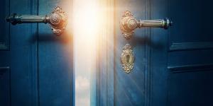 A porta que dá acesso à vida