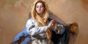 Encontro catequético virtual com crianças sobre Maria